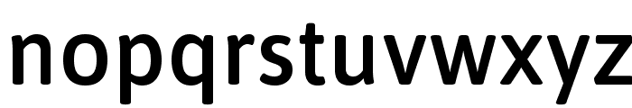 Asap Symbol Font LOWERCASE