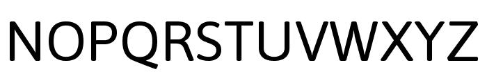 Asap VF Beta Regular Font UPPERCASE