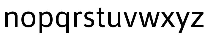 Asap VF Beta Regular Font LOWERCASE