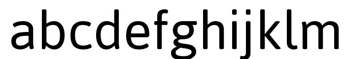 Asap Font LOWERCASE
