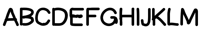 Ascriptt Font UPPERCASE