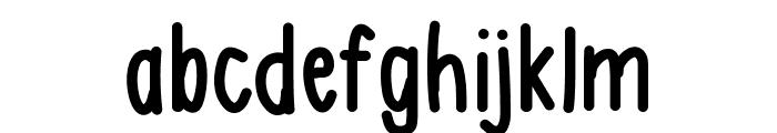 AsdfghjklBold Font LOWERCASE
