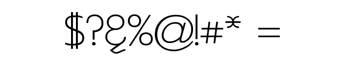 Asenine Font OTHER CHARS