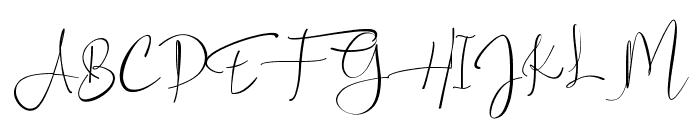 Asgard Font UPPERCASE