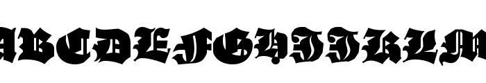 AsgardianWars Black Font UPPERCASE