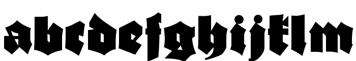 AsgardianWars Black Font LOWERCASE