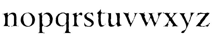 Asha Font LOWERCASE