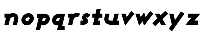Ashby Black Italic Font LOWERCASE