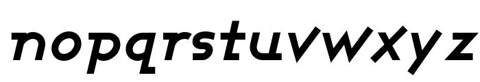 Ashby Bold Italic Font LOWERCASE