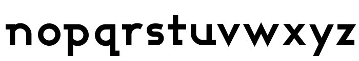Ashby Bold Font LOWERCASE