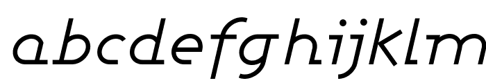 Ashby Book Italic Font LOWERCASE