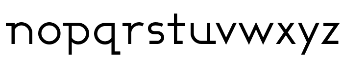 Ashby Book Font LOWERCASE