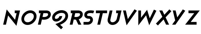 Ashby Extra Bold Italic Font UPPERCASE