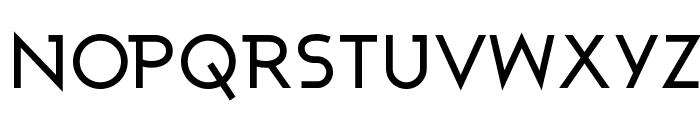 Ashby Medium Font UPPERCASE