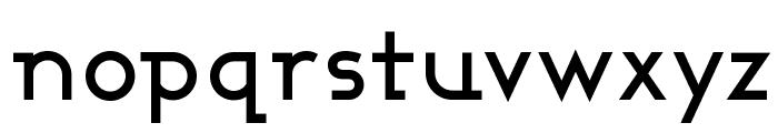 Ashby Medium Font LOWERCASE