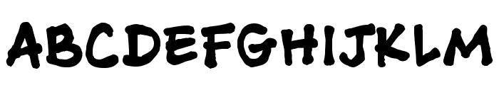 AshcanBB-Bold Font UPPERCASE