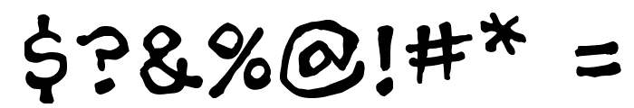 AshcanBB Font OTHER CHARS