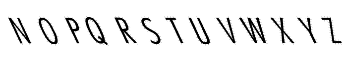 Ashes 1 Font UPPERCASE