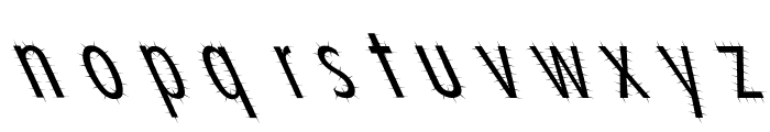 Ashes 1 Font LOWERCASE