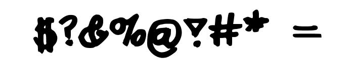 AshleesHand98 Font OTHER CHARS