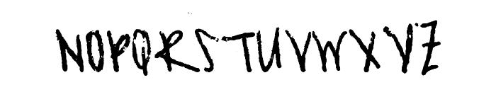 Asian Girl Font UPPERCASE