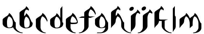Asie Font LOWERCASE