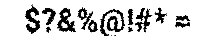 Asimov Aggro Condensed Font OTHER CHARS