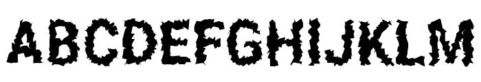Asimov Aggro Condensed Font UPPERCASE