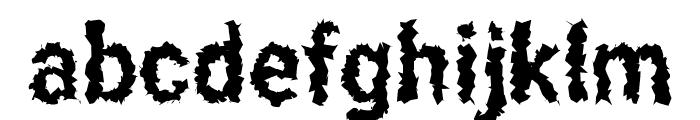 Asimov Aggro Condensed Font LOWERCASE