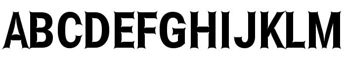 Asimov Edge Extreme Font UPPERCASE