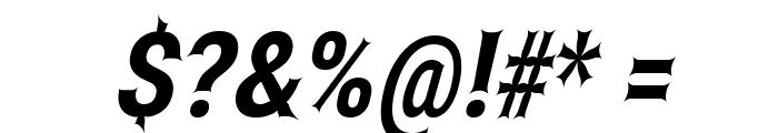 Asimov Edge ExtremeItalic Font OTHER CHARS