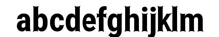 Asimov Edge Extreme Font LOWERCASE