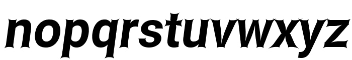 Asimov Edge Italic Font LOWERCASE