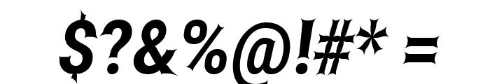 Asimov Edge Narrow Italic Font OTHER CHARS