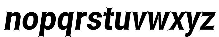 Asimov Edge Narrow Italic Font LOWERCASE