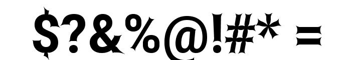Asimov Edge Font OTHER CHARS