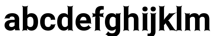 Asimov Edge Font LOWERCASE