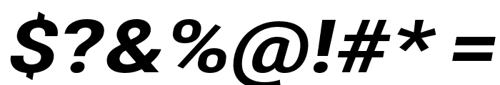 Asimov Extra Wide Italic Font OTHER CHARS