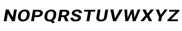 Asimov Extra Wide Italic Font UPPERCASE