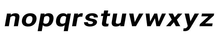 Asimov Extra Wide Italic Font LOWERCASE