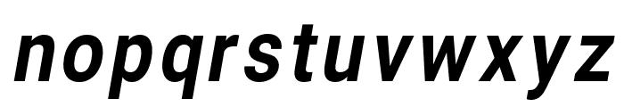 Asimov Narrow Italic Font LOWERCASE
