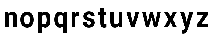 Asimov Narrow Font LOWERCASE