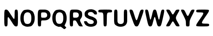 Asimov Print A Font UPPERCASE