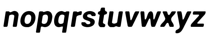 Asimov Print C Italic Font LOWERCASE