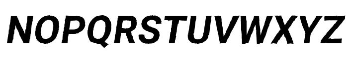 Asimov Print D Italic Font UPPERCASE