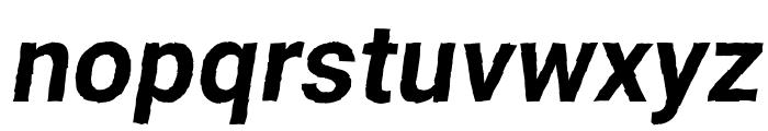 Asimov Print D Italic Font LOWERCASE