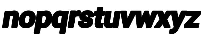 Asimov Print E Italic Font LOWERCASE