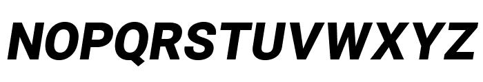 Asimov Pro Ultrablack Oblique Font UPPERCASE