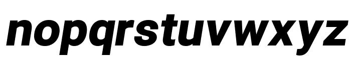Asimov Pro Ultrablack Oblique Font LOWERCASE