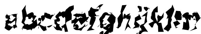 Asimov Silicon Italic Font LOWERCASE